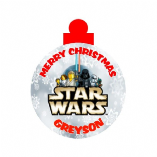 Lego Star Wars  Acrylic Christmas Ornament Decoration